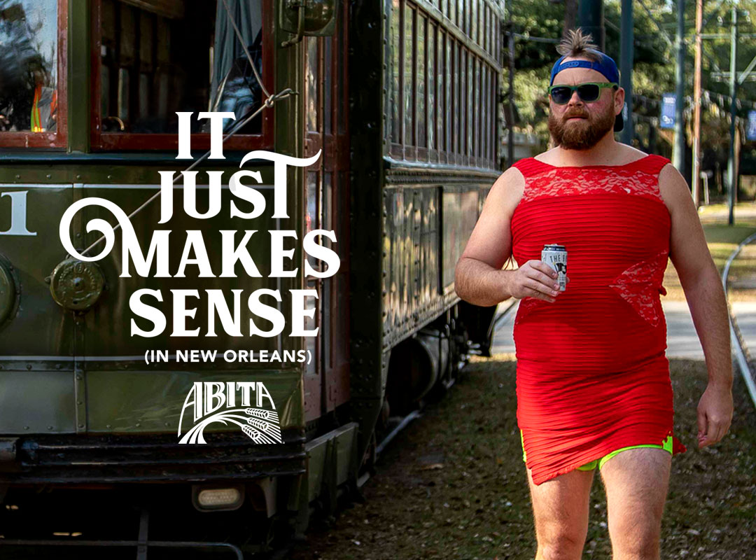 Bond PR - Abita Red dress campaign